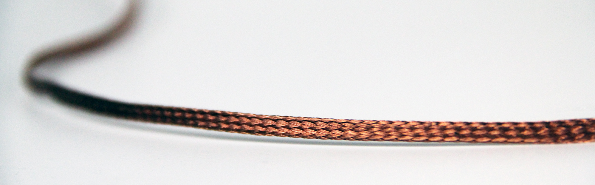 Tubular Bare Copper Braid